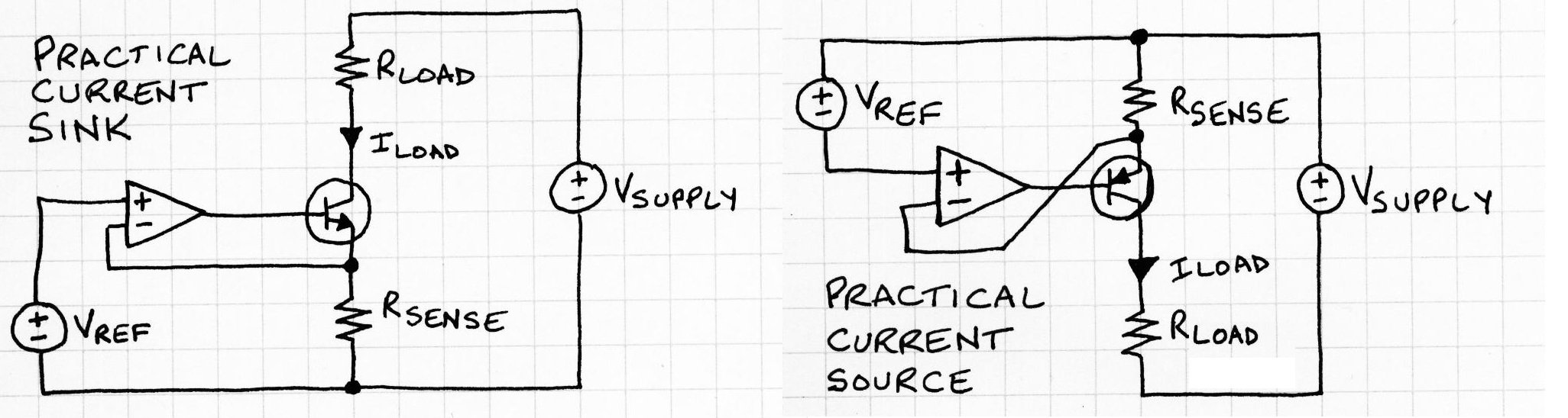 Picture of Practical Current Sources and Sinks