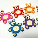 How to Make a Two Tone Quilling Teddy Bear