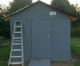 Garden Shed from Pallets