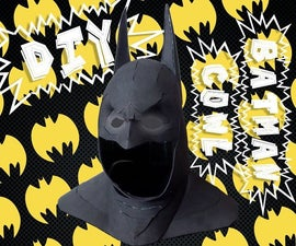Batman Cowl from Craft Foam