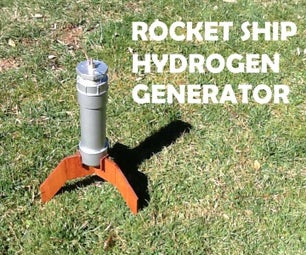 Rocket Ship Hydrogen Generator