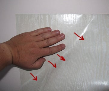 Attach Self-adhesive Wallpaper