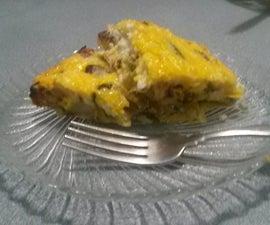 Quick and Easy Veggie Frittata