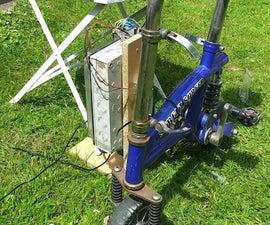 Electromagnetic Bikeshed Lock