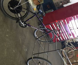 T-Tech Electric Cargo Tricycle