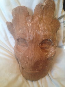 Sculpting a Groot Mask