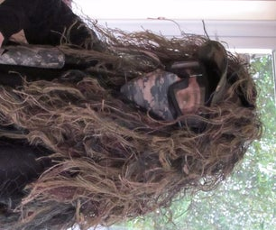 Combat Ghillie Hoodie - for Airsoft, Hunting or Apocalypse...