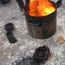 easy cheap fire experiment