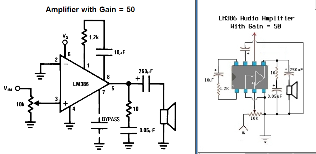 Picture of LM386 Audio Amplifier