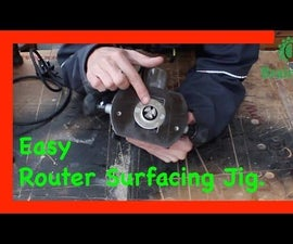 How to Use a Router Planer & Surfacing Jig to Thickness & Flatten Rough Sawn Timber or Thick Lumber