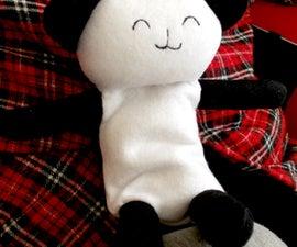 Snuggly Panda heated pillow