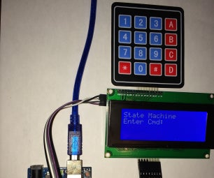 Keypad Input Validation Using State Machine Programming