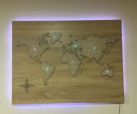 World Map From Sew