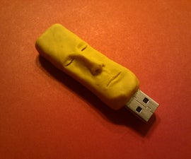 Create a Custom USB Drive / Figurine Out of Polymer Clay
