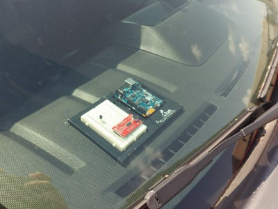 'Overheating Dog/Baby in a Car' Alarm - Email Notifier