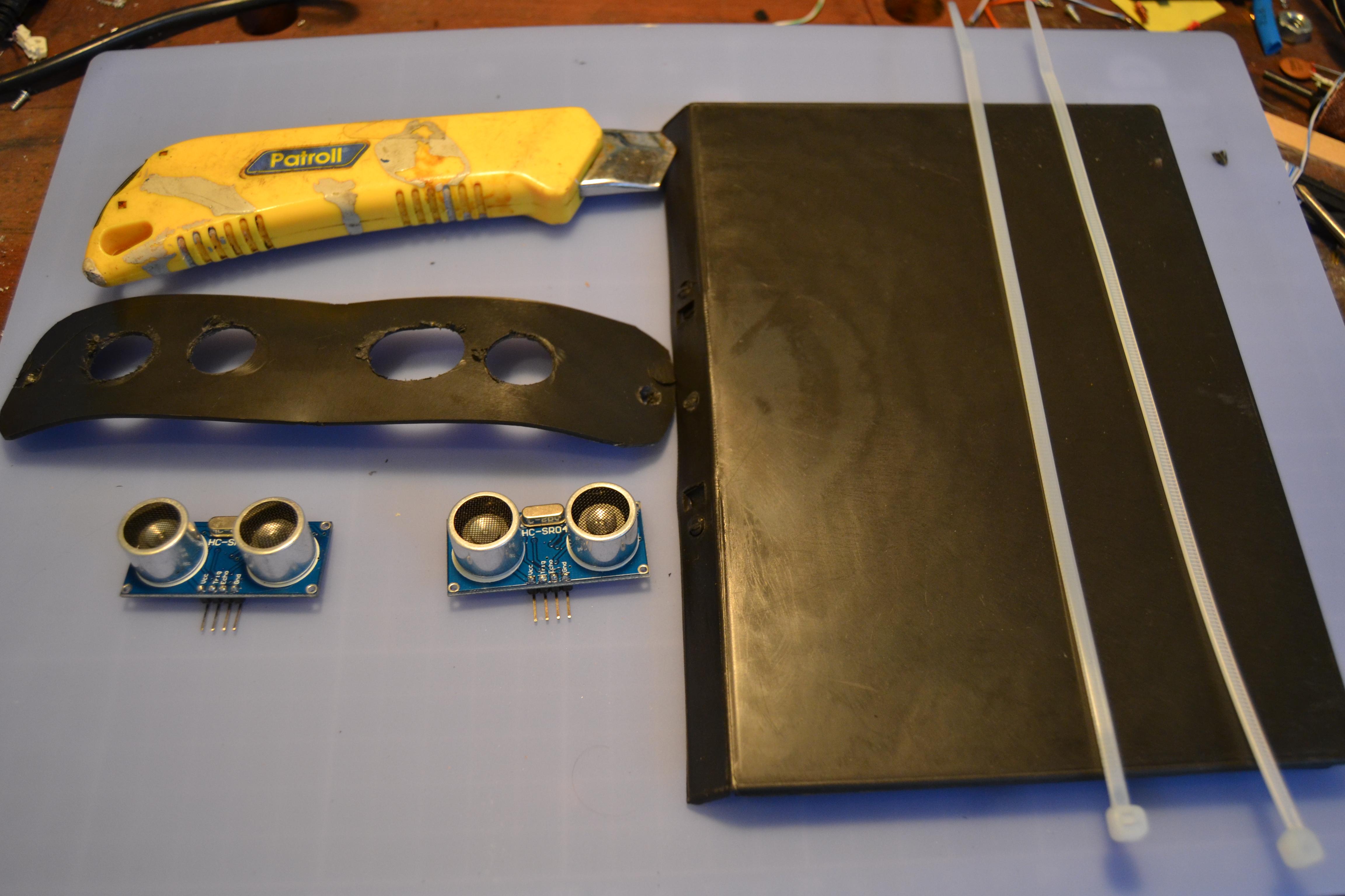 Picture of Sensores HC SR04 • Sensors HC SR04