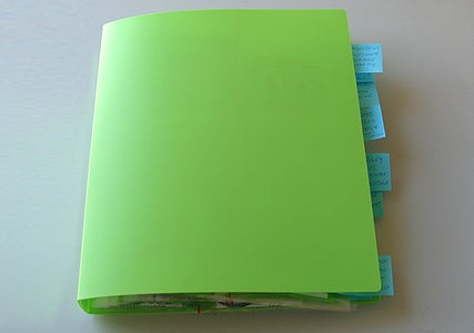 Put the Pages in the Ring Binder