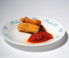 Vegan Mozzarella Sticks
