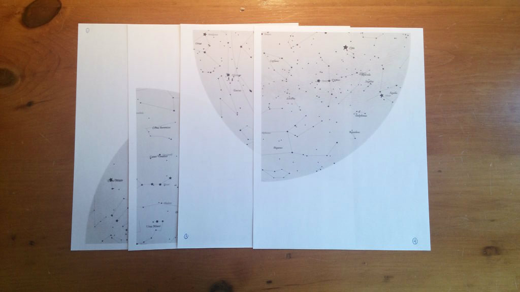 Picture of Finding and Printing a Star Chart