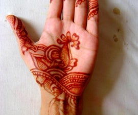 How to apply Henna (Mehndi) on your Hands!