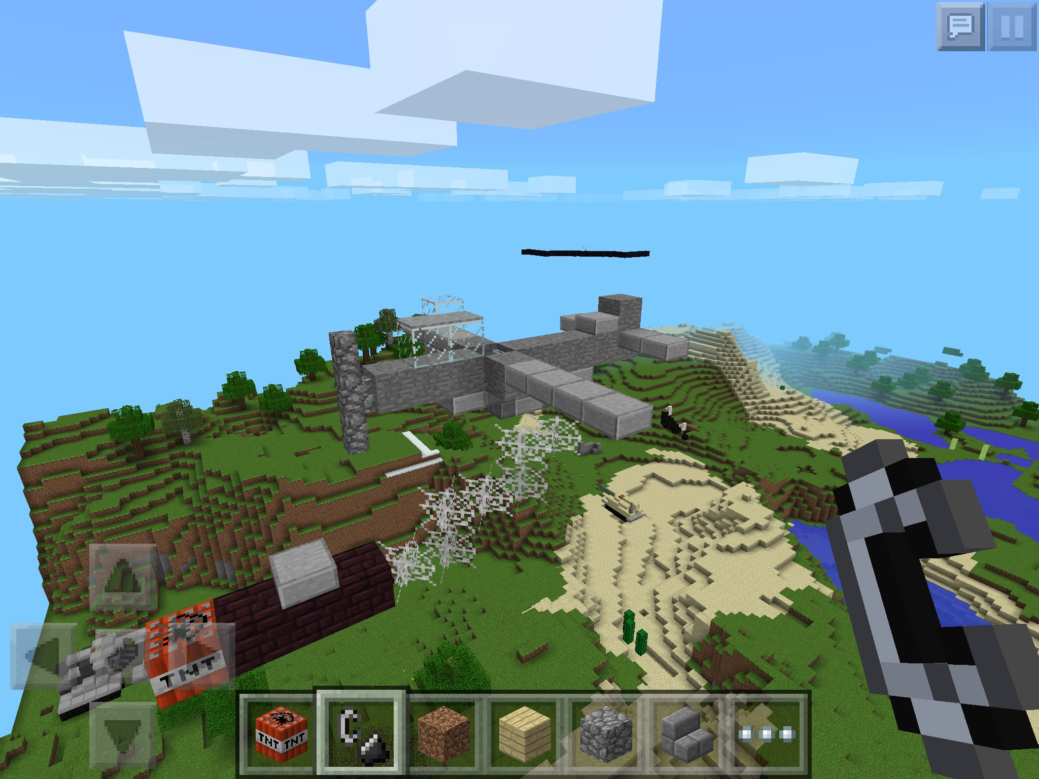 Picture of Minecraft Plane