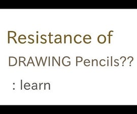 Resistance of pencil strips