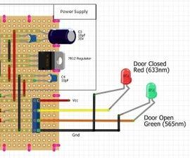 """Garage Door """"OPEN-CLOSED"""" Indicator"""