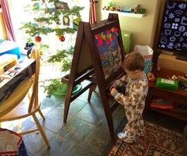 Kids Folding Art Easel