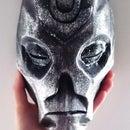 Skyrim Dragon Priest Mask (Pepakura Papercraft)