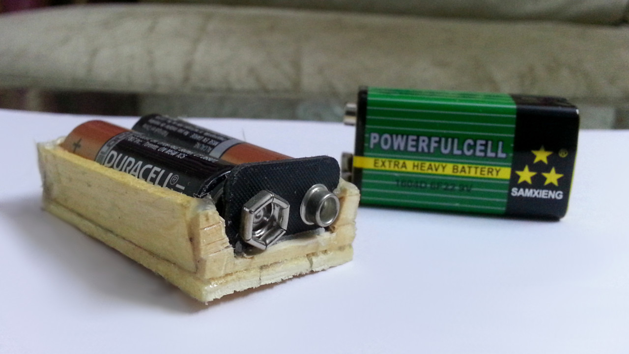 Picture of How to Make Battery Holder