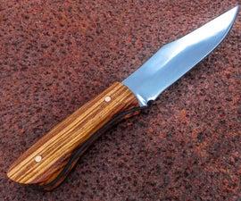 Knife Making: Clip Point Full Tang Knife