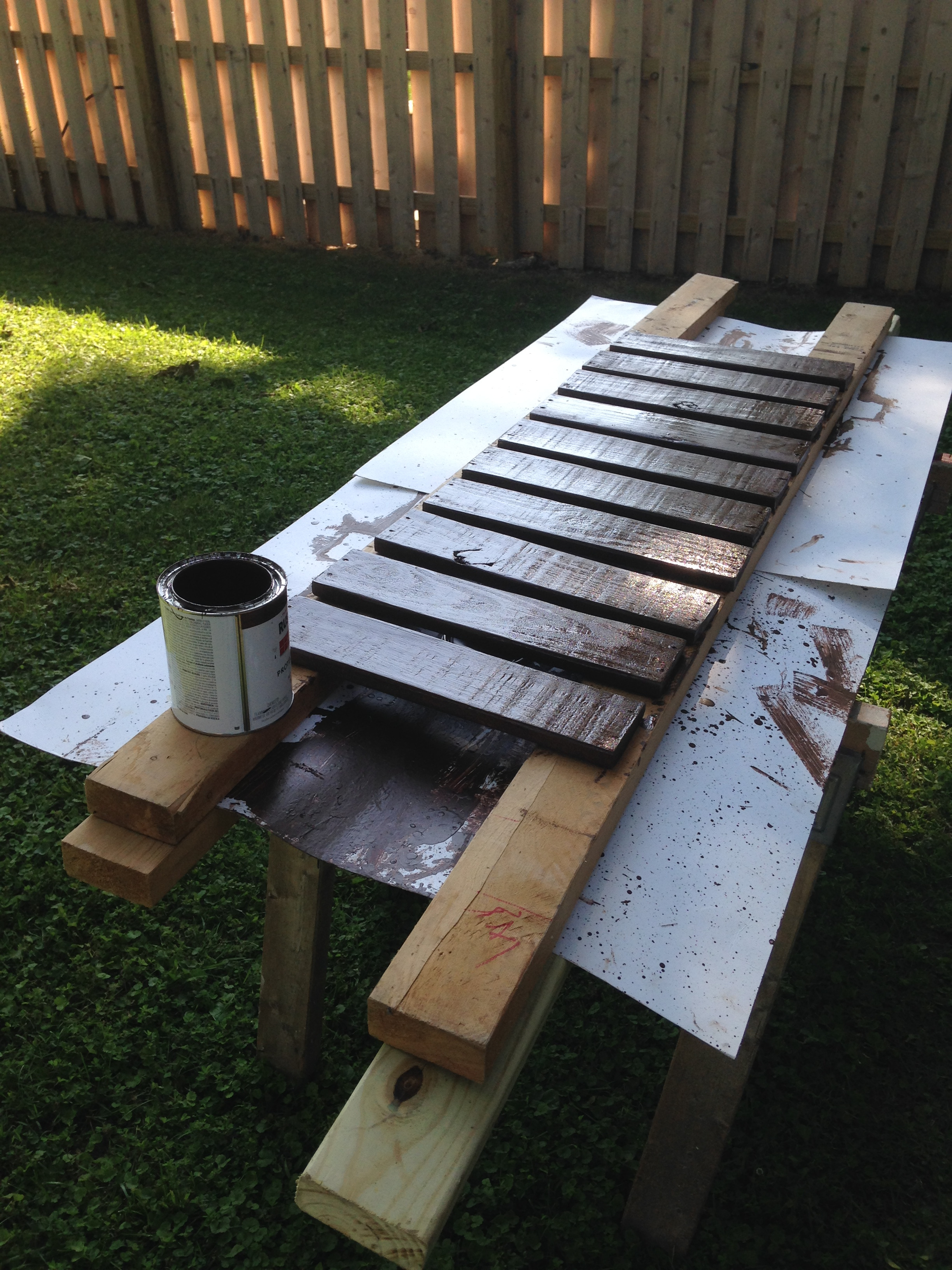 Picture of Step 4:  Paint Slats