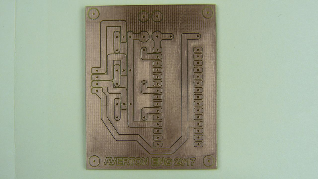 Picture of Making the Printed Circuit Board