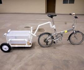 Bike Trailer Shopping Cart