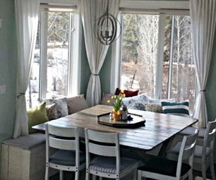 Frugal Farmhouse Dining Table