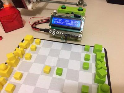 Simple Arduino Chess Clock