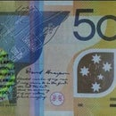 Detecting Counterfeit Currency, Australian polymer dollars.