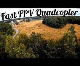 Remote Control Superfast 250 FPV Drone