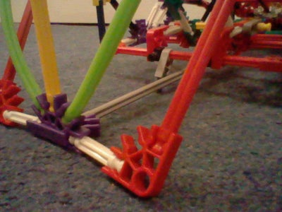 Knex Dune Buggy With Steering and Rear Suspension.