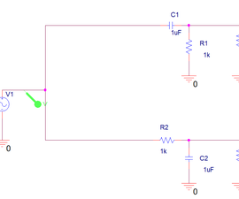 Passive high- and low-pass filters