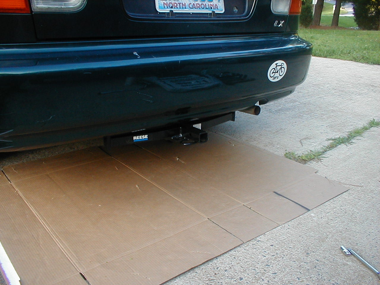 Installing a Trailer Hitch on a Small Car : 3 Steps (with Pictures) -  Instructables