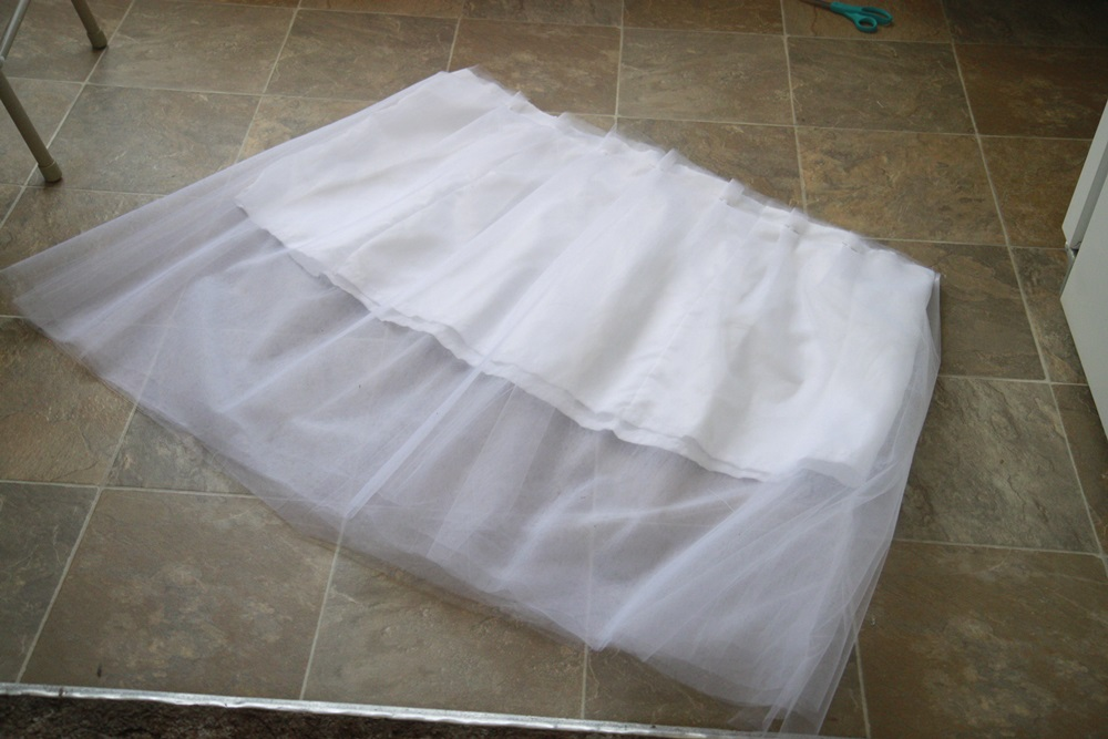 Picture of Attach Tulle to Lining