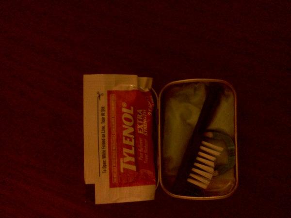 Altoids Tin Dental Kit