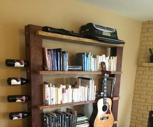 Bookcase/Wine Rack/Guitar Holder
