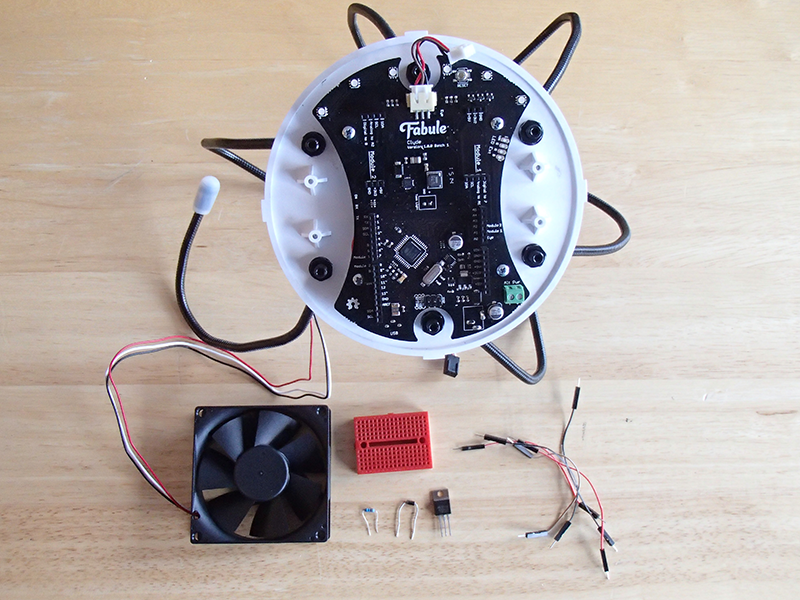 Picture of Build the Fan Circuit