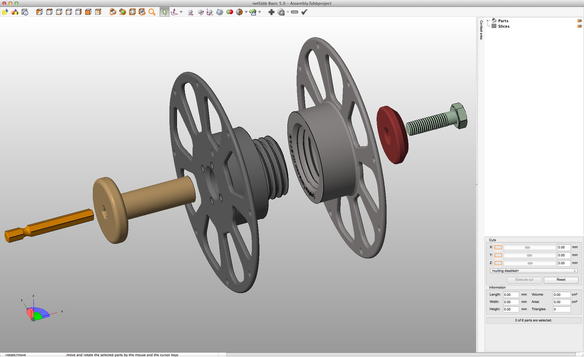 Picture of 3D-print the Four Separate Parts