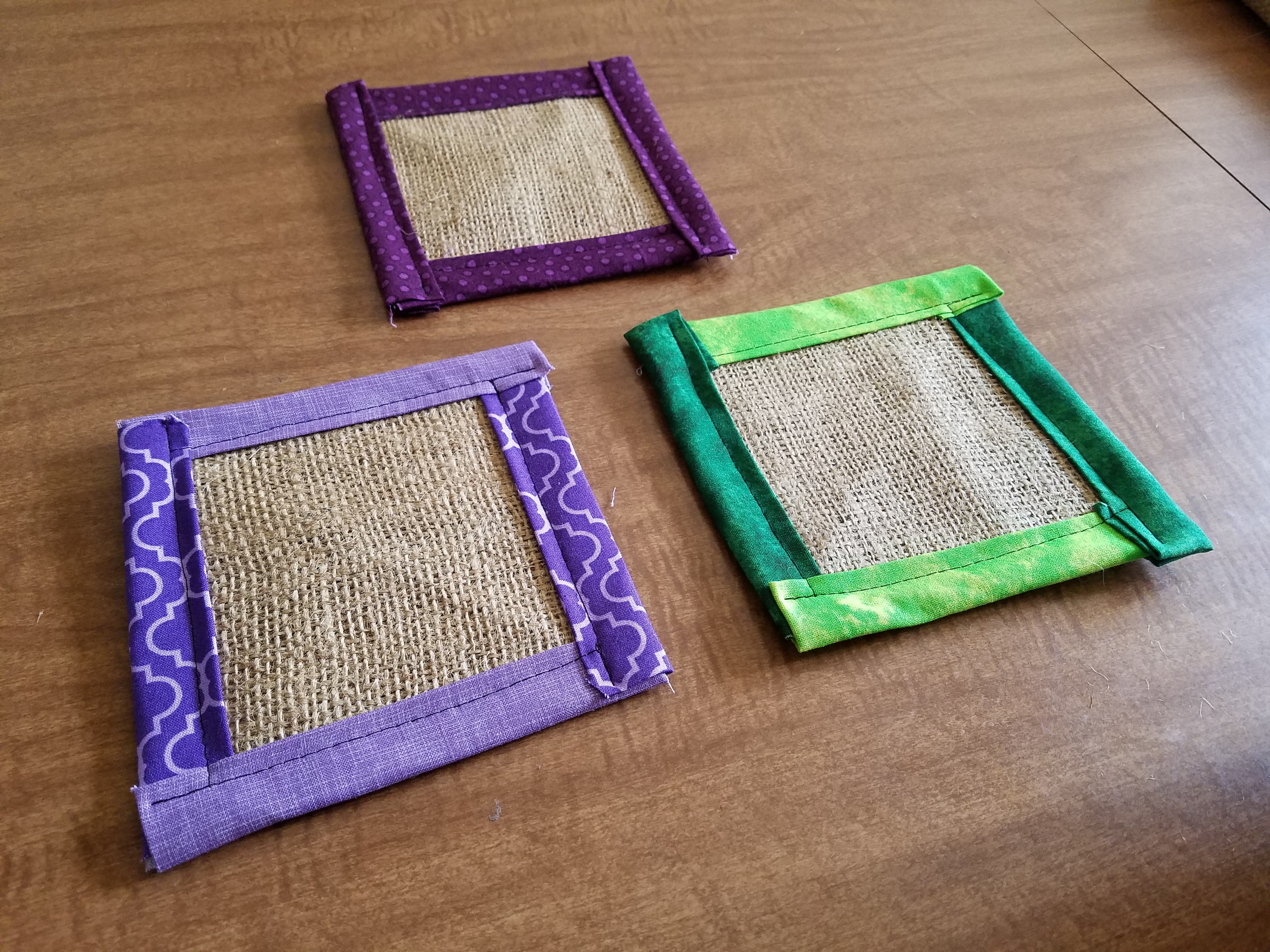 Picture of Fabric Plant Coasters