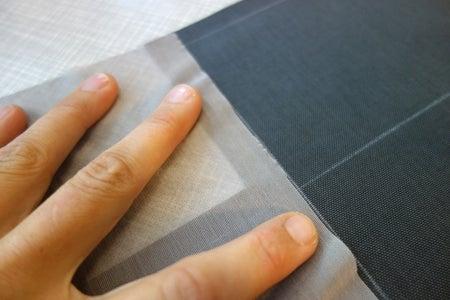 Component Pouch: Sew Powermesh Bottom