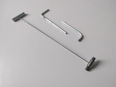 Pinless Blade Adapter/bladeclamp for Scrollsaws.