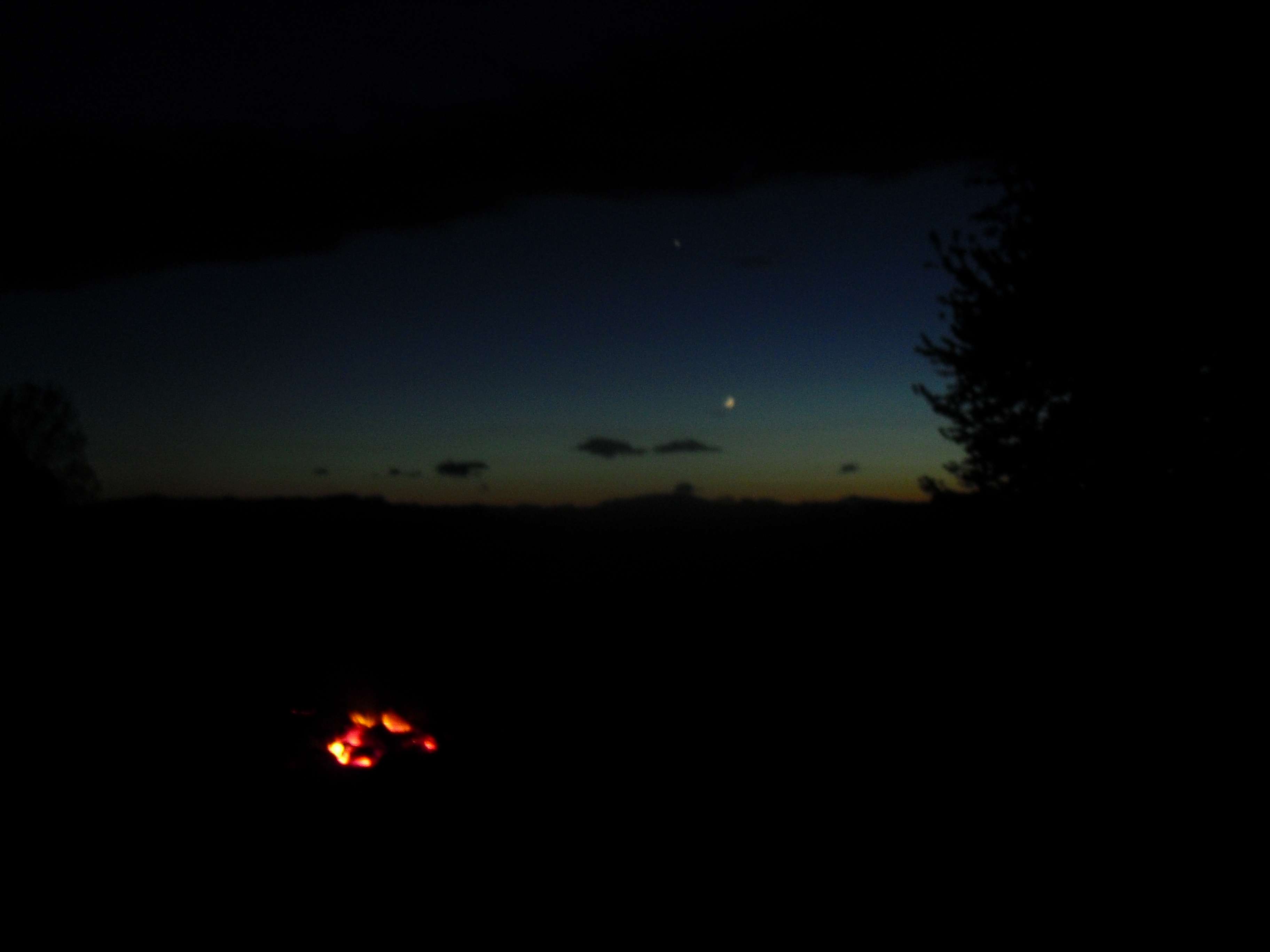 Picture of Vermont Sunset Outdoor Cooking